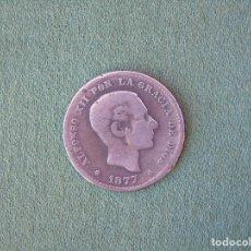 Monedas de España: 5 CENTIMOS ALFONSO XII ESPAÑA 1877. Lote 100031503