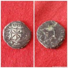 Monedas de España: MONEDA DE FELIPE III 4 CORNADOS 1613 NAVARRA.MUY ESCASA. Lote 100321774