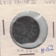 Monedas de España: FELIPE IV 16 MARAVEDIS MADRID 1664 M152. Lote 100327575