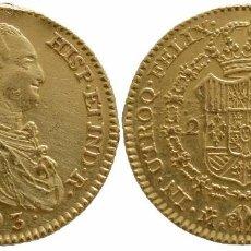 Monedas de España: CARLOS IV 2 ESCUDOS 1793-MF MADRID. Lote 100725459