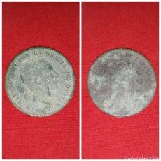 Monedas de España: MONEDA ESPAÑA ALFONSO XII 10 CENTIMOS BARCELONA OM 1877. Lote 101151246
