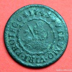 Monedas de España: 4 MARAVEDIS 1743 FELIPE V SEGOVIA. Lote 101386911