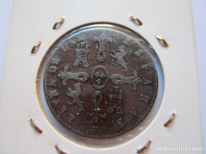 Monedas de España: moneda de 8 maravedíes de Isabel II 1841 Segovia EBC - Foto 2 - 102736183