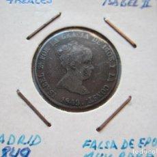Monedas de España - moneda de 4 reales de Isabel II 1849 Madrid muy rara MBC+ - 102740819