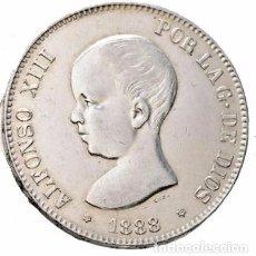 Monedas de España: ALFONSO XIII. 5 PESETAS. 1888. MPM. EBC+/EBC. Lote 102748595