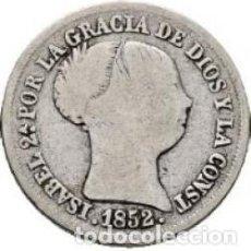 Monedas de España: ISABEL II. MADRID. 2 REALES. 1852 MBC+. Lote 102969199