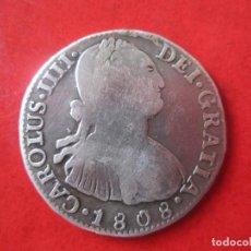 Monedas de España: 2 REALES DE PLATA DE CARLOS IV. 1808 POTOSI. Lote 103302335