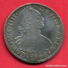 Monedas de España: MONEDA PLATA 8 REALES CARLOS IV IIII 1796 MEJICO MEXICO MBC+ ORIGINAL , A20. Lote 103399719