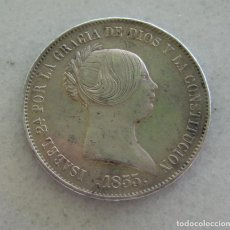 Monedas de España: ISABEL II 20 REALES 1855. VER FOTOGRAFIAS. Lote 103765219