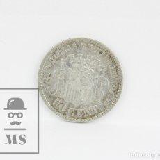 Monedas de España: MONEDA GOBIERNO PROVISIONAL 1870 70* - 50 CÉNTIMOS SNM PLATA - CONSERVACIÓN MBC. Lote 104297415