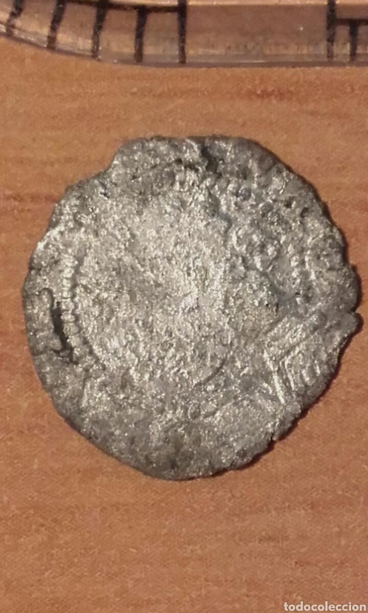 Monedas de España: MONEDA 783 FERNANDO E ISABEL PLATA 1/4 REAL CECA DE BURGOS SE LEE B - MARCA DE CECA EN REVERSO - Foto 4 - 37844843