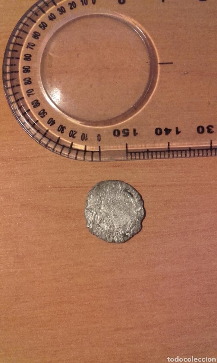 Monedas de España: MONEDA 783 FERNANDO E ISABEL PLATA 1/4 REAL CECA DE BURGOS SE LEE B - MARCA DE CECA EN REVERSO - Foto 10 - 37844843