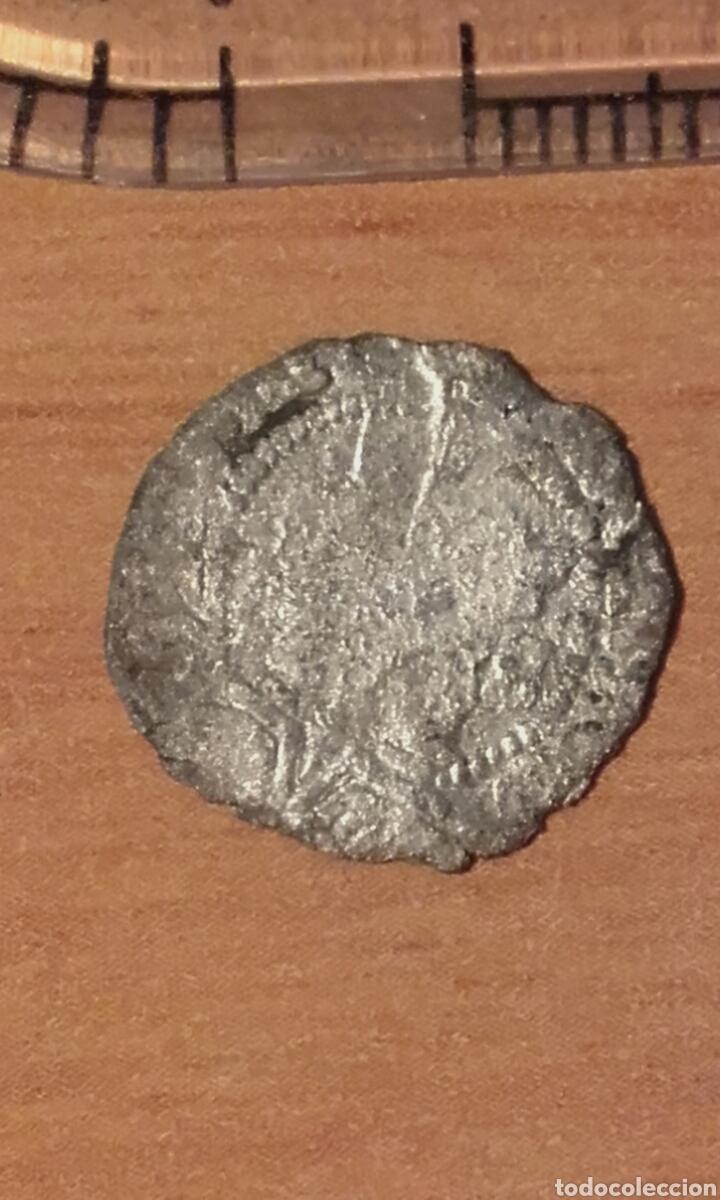 Monedas de España: MONEDA 783 FERNANDO E ISABEL PLATA 1/4 REAL CECA DE BURGOS SE LEE B - MARCA DE CECA EN REVERSO - Foto 11 - 37844843