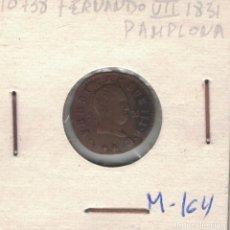 Monedas de España: FERNANDO VII. 1831. UN MARAVEDÍ DE PAMPLONA M164. Lote 105289495