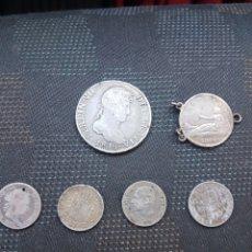 Monedas de España: MONEDAS ANTIGUAS FERNANDO ISABEL ALFONSO. Lote 105323943