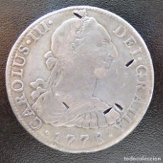 Monedas de España: 8 REALES CARLOS III 1778 MEXICO F.F.. Lote 106642959