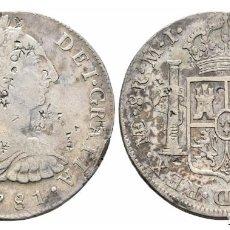Monedas de España: 8 REALES CARLOS III 1781 LIMA M.I.. Lote 106644843