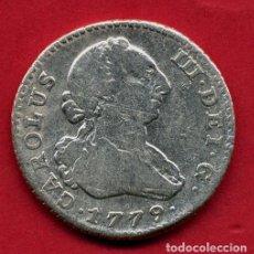 Monedas de España: MONEDA PLATA , CARLOS III , 1 REAL 1779 MADRID , MBC , ORIGINAL , B5. Lote 107681355