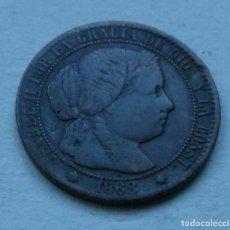 Monedas de España: MONEDA DE 1 CENTIMO DE ESCUDO DE ISABEL II AÑO 1868 CECA DE BARCELONA . Lote 107688335