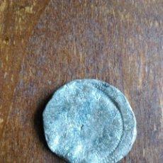 Monedas de España: ANTIGUA MONEDA PLOMO FALSA ÉPOCA IDENTIFICAR. Lote 107786474