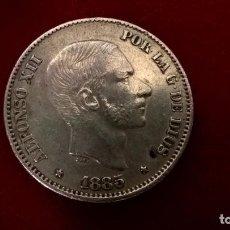 Monedas de España: 50 CENTAVOS DE PESO DE 1885. MANILA, FILIPINAS. EBC. Lote 107788271