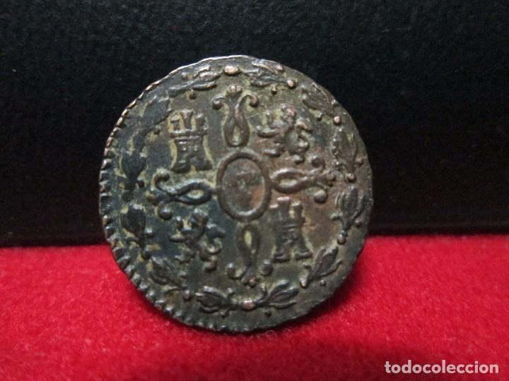 Monedas de España: 2 maravedis 1829 fernando VII CECA SEGOVIA - Foto 2 - 108330079