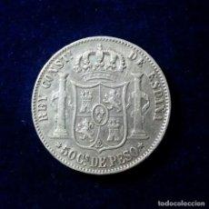 Monedas de España: 50 CENTAVOS DE PESO - ALFONSO XII 1885 - CECA MANILA -. Lote 108760367