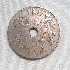 Monedas de España: 25 CÉNTIMOS ALFONSO XIII 1927. Lote 109330963