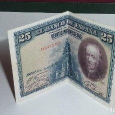 Monedas de España: ESPAÑA - 25 PESETAS DEL AÑO 1928 - SERIE D - CALDERÓN DE LA BARCA. Lote 109397311