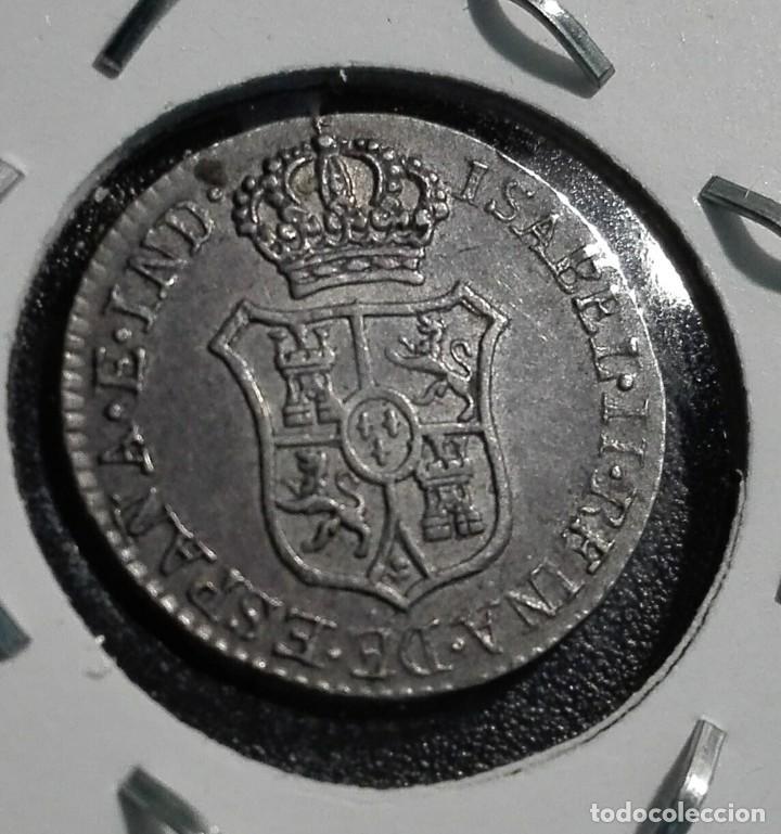 Monedas de España: MONEDA PROCLAMACION ISABEL II GRANADA 1834 - Foto 2 - 109602447