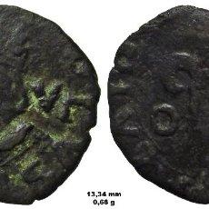 Monedas de España: DINERO O DINER MENUT DE VALENCIA. CARLOS I, MARCAS A - V / O - I (1552-1556). Lote 110150051