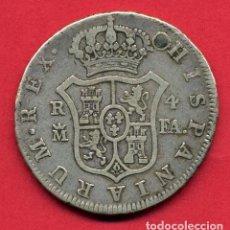 Monedas de España: MONEDA PLATA , CARLOS III , 4 REALES 1804 , MADRID , MBC+ , PERFORADA Y REPARADA , ORIGINAL , B9. Lote 110239807