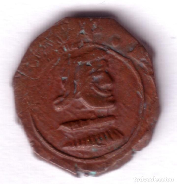 Monedas de España: ESPAÑA 8 maravedies 1661 C ceca de CUENCA acuñada a martillo Rey FELIPE IV - - Foto 2 - 110431455