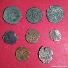 Monedas de España: LOTE DE 8 MONEDAS DEL PERIODO DE LOS AUSTRIAS. . Lote 110743323