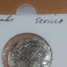 Monedas de España: MONEDA PLATA 2 REALES FELIPE V SEVILLA. Lote 110821340
