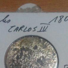 Monedas de España: MONEDA PLATA 2 REALES CARLOS IIII 1808 SEVILLA. Lote 110823711