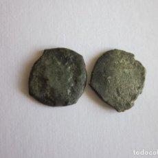 Monedas de España: 2 DINEROS. VALENCIA. GERMANÍAS Y FELIPE II. RAROS.. Lote 111023407