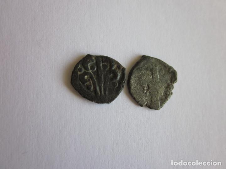Monedas de España: 2 Dineros. Valencia. Germanías y Felipe II. Raros. - Foto 2 - 111023407