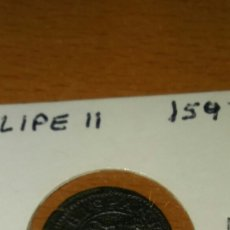 Monedas de España: MONEDA ESPAÑA 2 MARAVEDÍ FELIPE II 1597. Lote 111024230