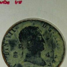 Monedas de España: MONEDA ESPAÑA FERNANDO VII SEGOVIA 4 MARAVEDÍ 1831. Lote 111035196