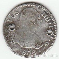 Monedas de España: CARLOS IV- 2 REALES- 1808- SEVILLA-CN. Lote 111064063