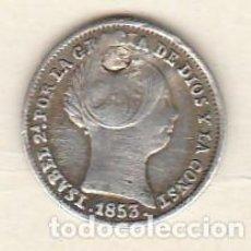 Monedas de España - ISABEL II- 1 REAL- 1853-SEVILLA - 111064295