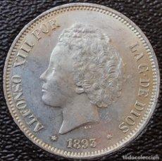 Monedas de España: 5 PESETAS. 1893.. Lote 111345283