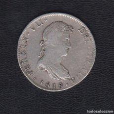 Monedas de España: 1818.- FERNANDO VII. 8 REALES PLATA MÉXICO JJ. Lote 111353391