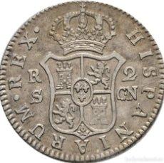 Monedas de España: CARLOS IV. 2 REALES 1808 SEVILLA! PLATA! EBC! 23 MM // 5.8G!. Lote 111430803