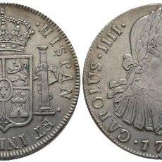 Monedas de España: CARLOS IV. 8 REALES. 1793 PLATA! GUATEMALA! EBC+! MUY ESCASA! 35 MM // 26.8 G. Lote 111435535