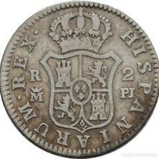 Monedas de España: CARLOS III. 2 REALES. 1778. MADRID. PLATA! 23 MM // 5.5G! MBC+. Lote 111452543