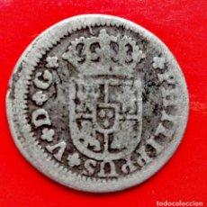 Monedas de España: 1/2 REAL 1730 SEVILLA (ESCASA). Lote 111601103