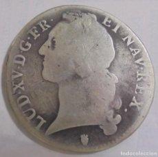 Monedas de España: MONEDA. LUIS XV. 1 ECU. 1753. NAVARRA. VER. Lote 112410411