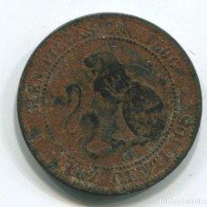 Monedas de España: GOBIERNO PROVISIONAL. 10 CÉNTIMOS 1870. Lote 112805819